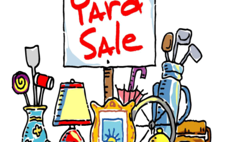 2018 Community Yard Sale Listings for June 9th