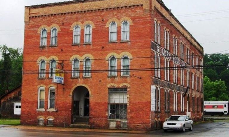 Belington's Golden Rule building seeing a new day