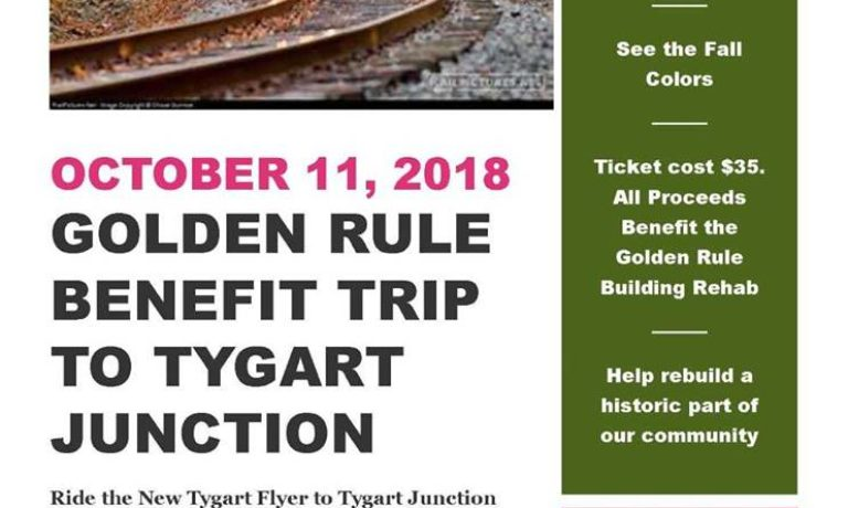 Golden Rule Benefit Train Ride