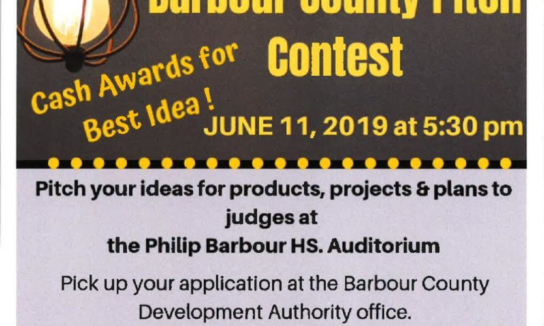 Barbour County Pitch Contest